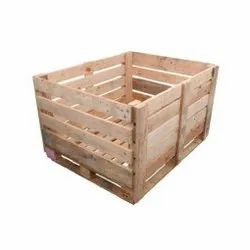 Rectangular Jungle Wooden Pallets Box, For Packaging, Capacity: 88 kg