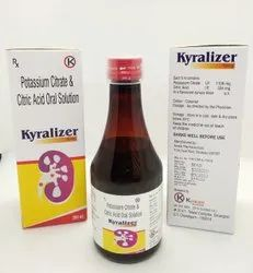 Potassium Citrate Monohydrate 1100mg Citric Acid Monohydrate 334mg Syrup   - Kyralizer Syrup