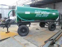 Heavy Duty 4 Wheel Water Tanker