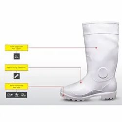 Century White Hillson Safety Shoes
