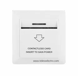 40A White Programmable Energy Saving Switch, Insert Card, 220v Ac