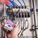 Ultrasonic Testing Device For Leak Detection
