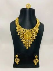 1 GM GOLD PLATED NECKLCE SET