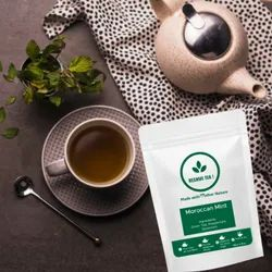 Moroccan Mint Green Tea, Leaves