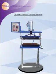Pneumatic Chapati Double Ball Flattening Machine