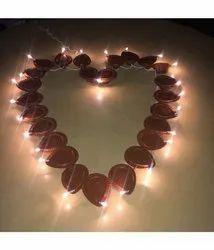 2x2 2.5Mtr LED Diya Light For Home Decoration 24 Diya