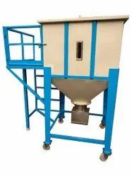 Stainless Steel Ss surge hopper bin, Size: 1090mm X 1090mm X 2740 mm, Capacity: 625 kg