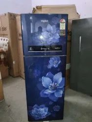 3 Star Blue Whirlpool Refrigerators, Double Door