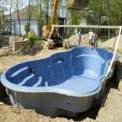 Fiber Swimming Pool Construction Service