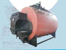 Coconut Shell Fired 4000 Kg/hr Steam Boiler