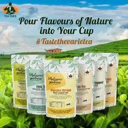 Tea Yard Morning Herbal Green Tea (100g)