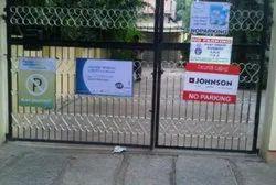 No Parking Gate Board Printing Service