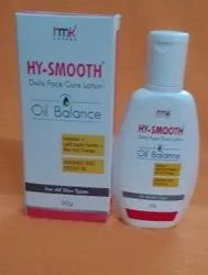 HY-Smooth Daily Face care Lotion, For Oil Balance Normal Skin, Packaging Size: 60 ml