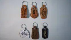 Pure Leather Keychain