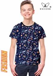 24 26 28 30 32 34 36 Kids Boys Printed T Shirt