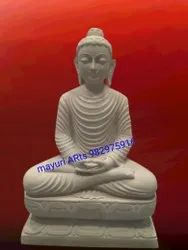 3 Feet Sandstone Buddha Statue