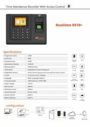 Optical Sensor RS485 Realtime RS10+ Wifi Biometric Attendance & Access Control System, Products Included: Adapter, 100000