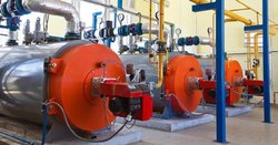 Oil & Gas Fired 500-1000 kg/hr Fire Tube Steam Boiler