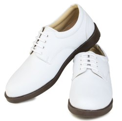White Navy Shoes