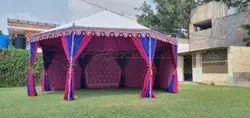 Coloured  5m Pavilion Tent