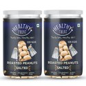 Healthy Treat Roasted Peanut- Salted 400 Gm - Pack Of 2- 200 Gm Each