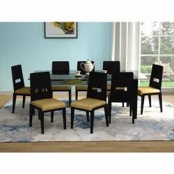 Crescent Plus 8 Seater Dining Table Set