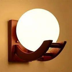 JEMCO Warm White LED Wooden Wall Mounted Light, For Home, 4-40 Watt
