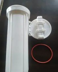 White Plastic RO Water Filter Housing, Size: 10 Inch