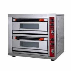 Double Electric Pizza Oven 2 Deck 2 Tray