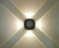 4 Way Wall Light