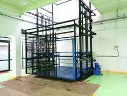 Hydraulic Goods Lift Double Mast