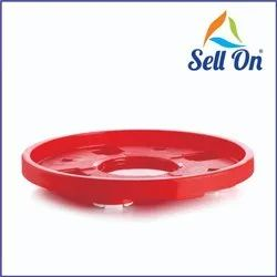 Plastic Cylinder Trolley Easily Movable Stand