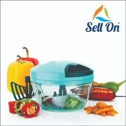 Manual Compact & Powerful Hand Held Vegetable Food Chopper (450Ml)