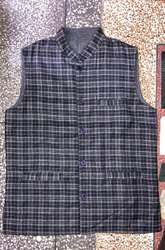 Reversible Winter Modi Jacket Or Nehru Jacket For Men Size-36,38,40,42,44