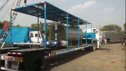 Oil & Gas Fired 1000 kg/hr Mobile Boiler System (MBS)