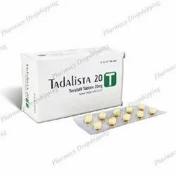 Tadalista 20 Mg Tablets