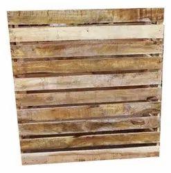 Rectangular Industrial Hardwood Pallet