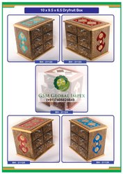 Brass Red Diwali Gift Box Manufacturer from Delhi, Box Capacity: 1-5 Kg