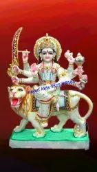 Makrana Marble Durga Maa Statue