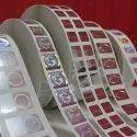 Holographic Digital Paper Label