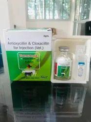 Amoxycillin & Cloxacillin for Injection (Vet.)