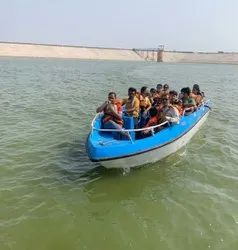 IRS Approved 12 seater Speed Boat with 50hp 4 Stroke Suzuki Engine along Remote control Steerin