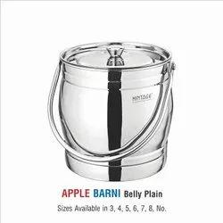Stainless Steel Barni-Apple plain