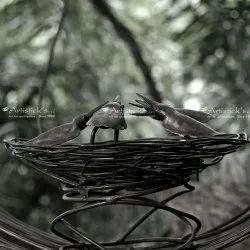 Crow Sculpture