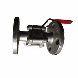 Stainless Steel Flanged Valve, 2 Hole