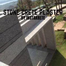 Instakrete Exterior Gray Stone Crete Plaster, Packaging Size: 25 kg