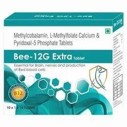Methylcobalamin , L- Methyfolate Calcium & Pyridoxal -5 Pohosphate Tablets