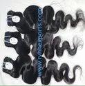 Machine Weft Human Hair Body Wave Style