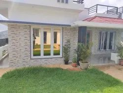 White UPVC Openable Windows, Thickness Of Glass: 5-10 Mm