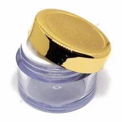 Acrylic Jar with Goldmetalizing Cap